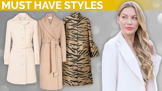 Elegant Coats You Must Own In Fall/Winter 2019!