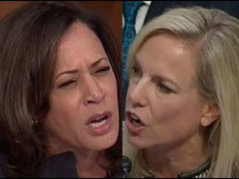 """THAT'S NOT MY QUESTION!!!"" Kamala Harris CONFRONTS Trump Lackey Kirstjen Nielsen"