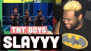 TNT Boys Smash 'And I Am Telling You I'm Not Going' - The World's Best Battle Round | REACTION