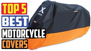 Top 5 Best Waterproof Outdoor Storage Motorcycle Covers