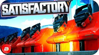 Adventure to WORLDS END for SECRET OIL in Satisfactory! (Satisfactory Early Access Gameplay)