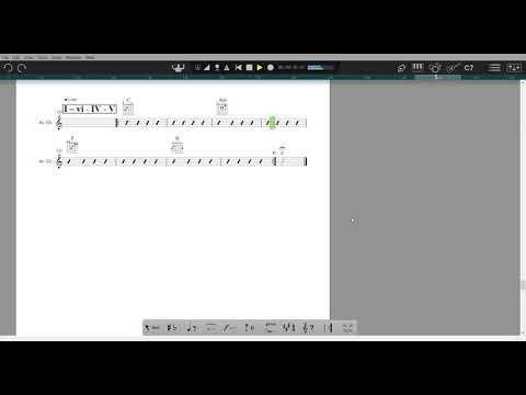Chord Progressions - C Major - I – vi -  IV -  V