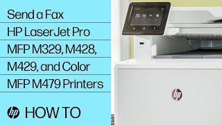 Hp Laserjet Pro Mfp Configure Send Fax Settings Hp Customer Support