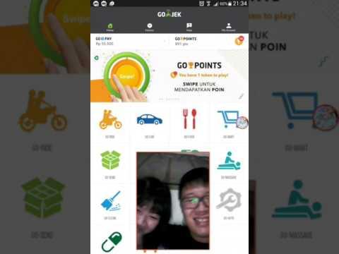 Video VLOG -  main go-point dari GoJek