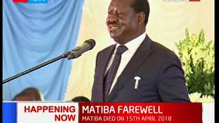 Raila Odinga: Matiba and I have been imprisoned in all prisons except one