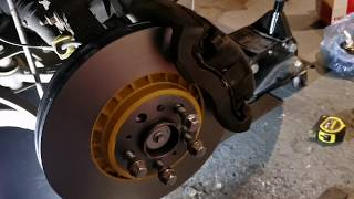Volvo XC90 Front Wheel Bearing Replacement
