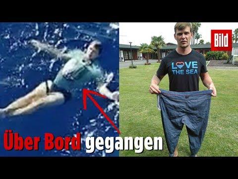 Deutscher rettet sich in Jeans als Rettungsweste