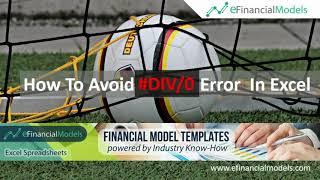 How To Avoid #DIV/0 Error In Excel