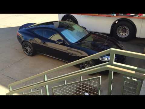 Jaguar XKR on HRE P101's