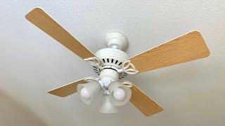 """2005 Hunter Bayport 42"""" Ceiling Fan w/ Westinghouse Light Kit"""