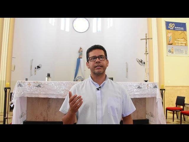 Pe. Márcio Celestino convida para o quarto dia da Novena pelos 80 anos da Catedral