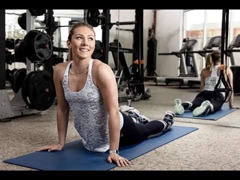 Mikaela Shiffrin training for Olympics 2018 | PyeongChang Winter Games