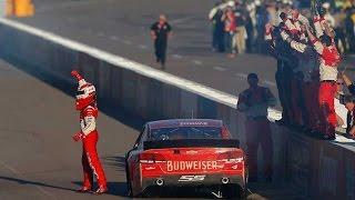 NASCAR - Phoenix2014 Final Laps Harvick Wins