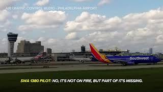 Hear air traffic control audio from catastrophic Southwest flight