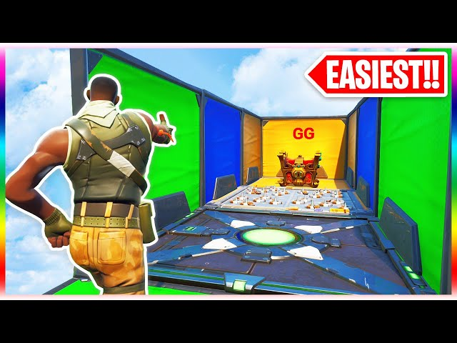 The Easiest Deathrun Of All Time Fortnite Creative Mode