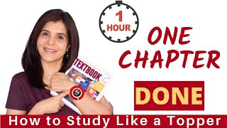 How to Complete One Chapter in One Hour | Fastest Way to Cover The Syllabus | ChetChat Study Tips