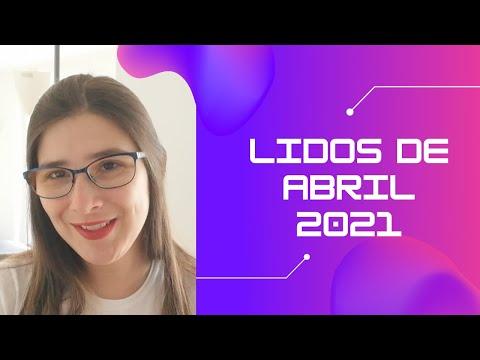 Lidos em Abril 2021