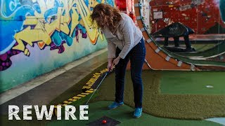 How to Make Art More Accessible Through Minigolf