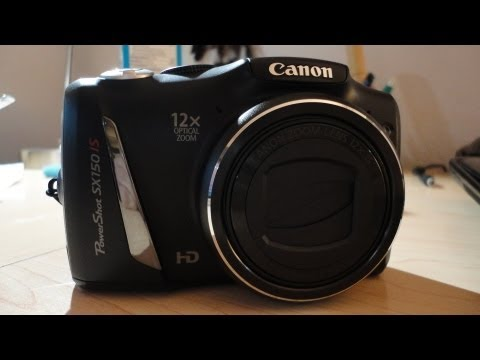 Unboxing: Canon PowerShot SX150 IS Mp3