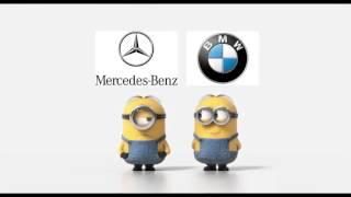 BMW VS MERCEDES MINIONS part 3 :D funny made   :D