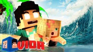 Minecraft : TSUNAMI NA ILHA !! #109 (MINECRAFT VIDA )