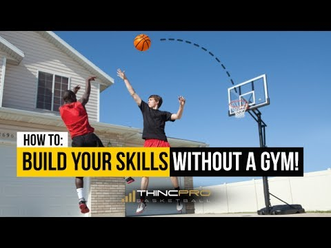 How to - Train For Basketball... WITHOUT A Gym! - Basketball Training Tip