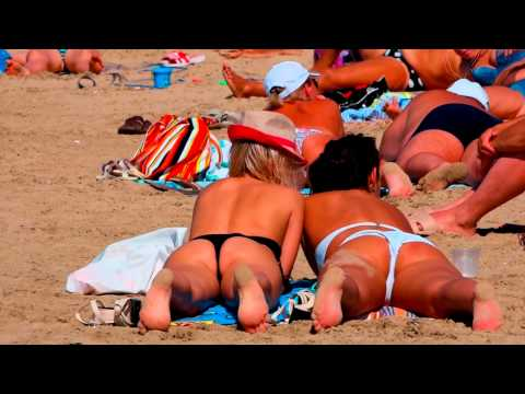 Попка на пляже в саратове видео этом