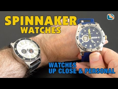 Spinnaker Watches Review • Watches Up Close & Personal