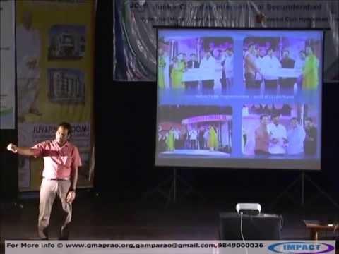 Life Story|Meka Srinivas|TELUGU IMPACT Hyd 2012
