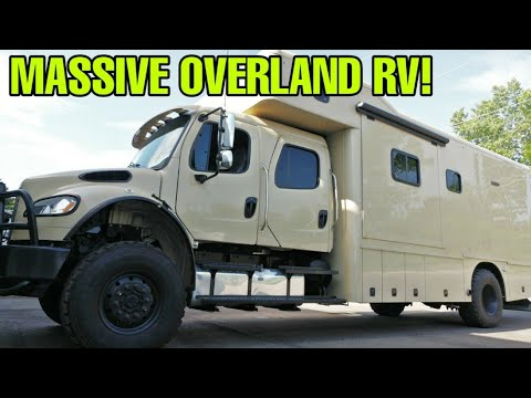 MASSIVE RV: 4×4 Off-Road Motorhome! Overlander's Dream! The Showhauler!