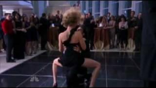 Morgan and Sarah's Sexy dance
