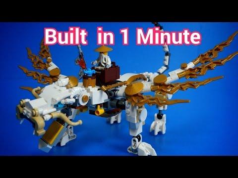 Vidéo LEGO Ninjago 70734 : Le dragon de Maître Wu