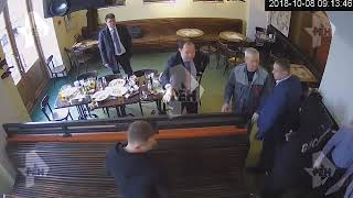 Полное видео драки Мамаева и Кокорина с чиновниками