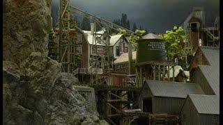 New Town On Steve's O Scale Railroad