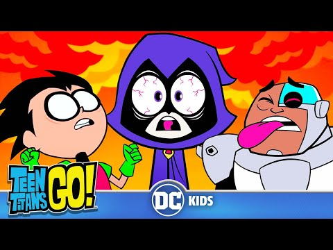 Teen Titans Go! | That Spicy Life! | DC Kids