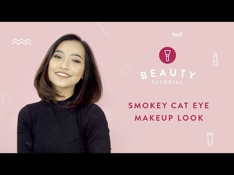 Smokey Cat Eye Makeup Look | Tutorials