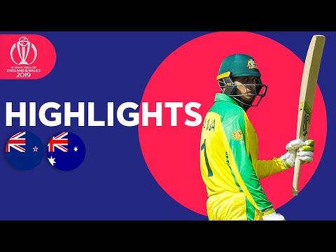 Boult Hat-Trick!   Australia vs New Zealand - Match Highlights   ICC Cricket World Cup 2019