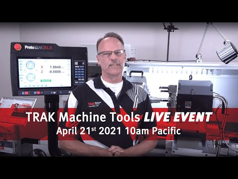 TRAK 2470RX Live Demo (recorded 4/21/21)