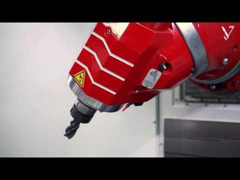 KIHEUNG KNC U BT - Kompakte CNC-Bettfräsmaschine für hohes Spanvolumen