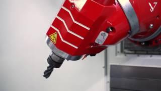 KIHEUNG KNC BT - Kompakte CNC-Bettfräsmaschine für hohes Spanvolumen