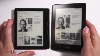 Kindle Oasis vs Kindle Voyage Comparison
