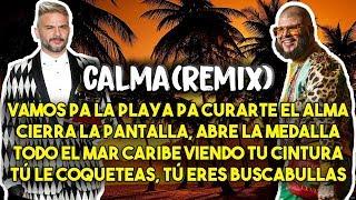 Pedro Capó, Farruko - Calma Remix (Letra/Lyrics)
