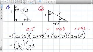 Special Triangles Grade 11 Univeristy Lesson 5 2 2 22 13