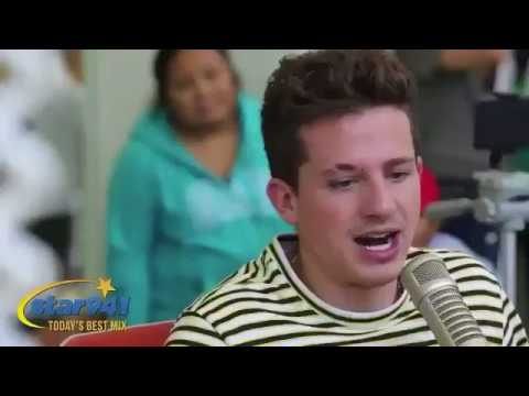 Charlie Puth beatboxing to Liam Payne's Strip That Down