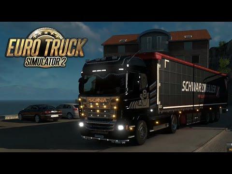 През морета и Скандинавии xD - Euro Truck Simulator 2 [#1]