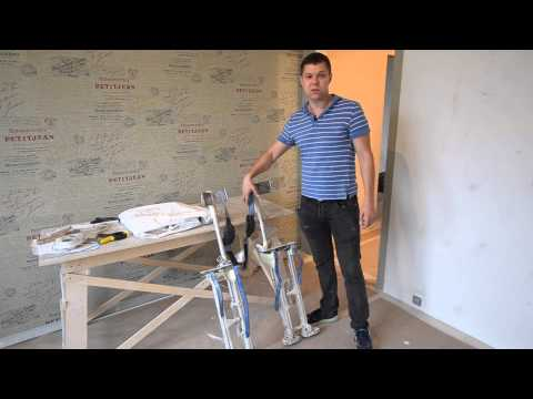Экспресс курс по монтажу натяжных потолков - смотреть видео