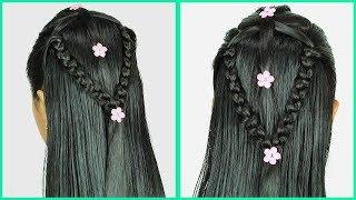 Peinado Fácil Con Cabello Suelto   Easy Loose Hairstyle