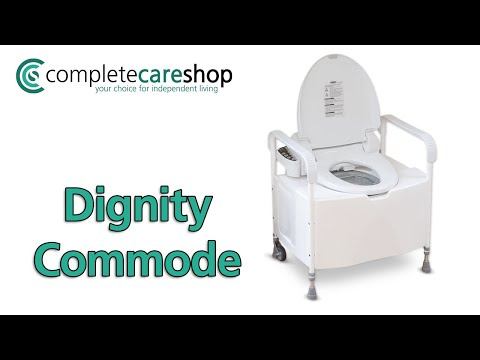 Easy To Use Self Contained Commode