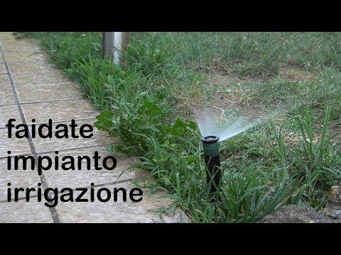 impianto di irrigazione fai da te - guida alla realizzazione