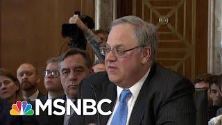 Paragon Of Corruption At Trump Interior Draws Eye Of Congress   Rachel Maddow   MSNBC